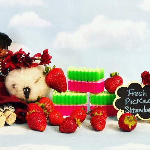 Fresh Picked Strawberry Soap