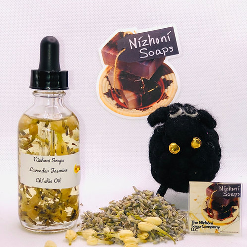 Lavender Petals with Jasmine Chi'shie Oil w/Pure Lavender