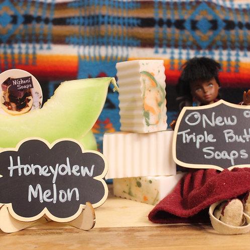 Triple Butter Honey Dew Melon Soap