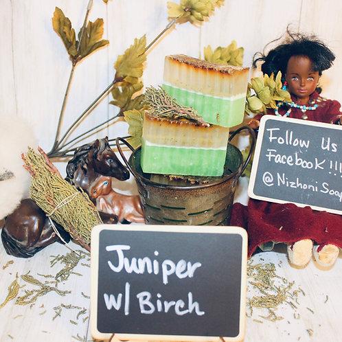 Fresh Juniper with Birch