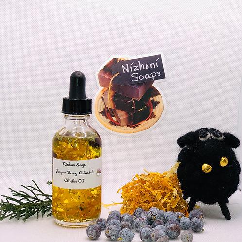 Fresh Juniper with Calendula  Chi'shie Oil w/Juniper Oils