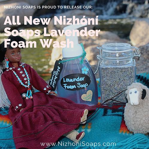 Lavender Foam Wash