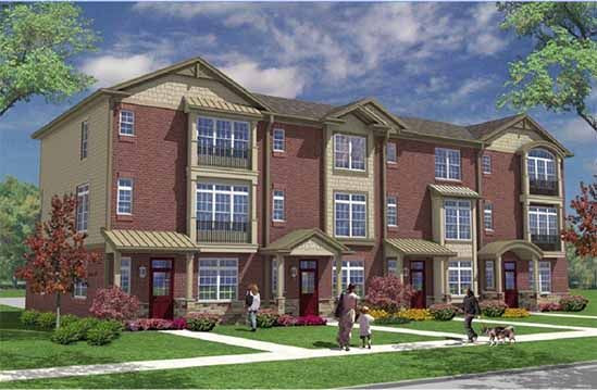 Union Square townhomes