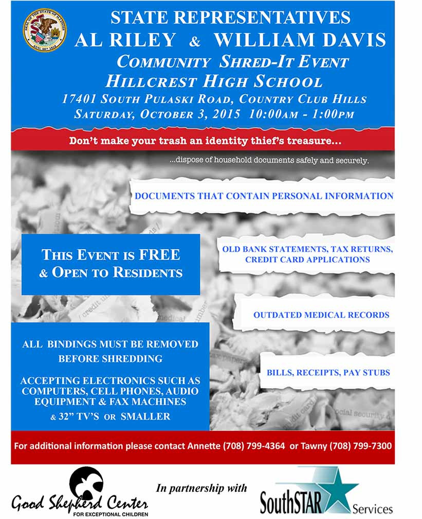 Shred it Event 090115