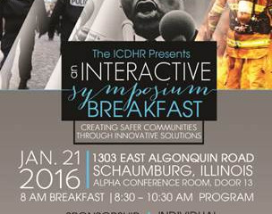 Jan 21: Illinois Commission on Diversity and Human Relations' Martin Luther King breakfast
