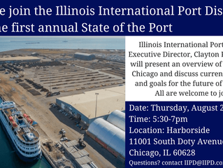 Aug. 23: State of the Port of Chicago meeting