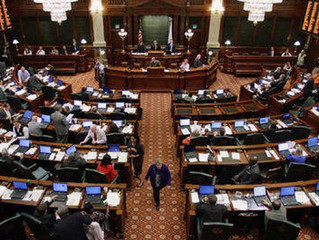Downstate scoffs at HB Bill 477 which could add $.02 phone surcharge for Emergency Telephone System