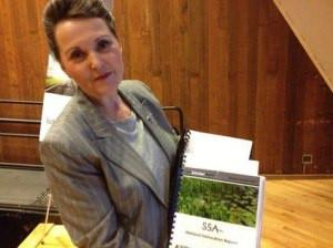 Susan Shea, director of IDOT's Aeronautics Division, photo by Cindy Wojdyla Cain