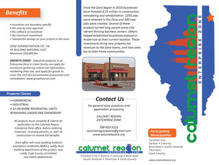 Calumet Region Enterprise Zone Brochure