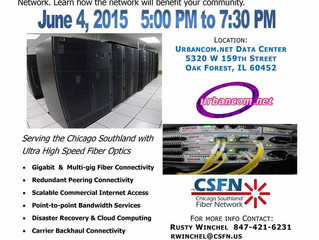 June 4: Chicago Southland Fiber Network grand opening & launch