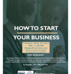 April 30: How to Start Your Business Workshop