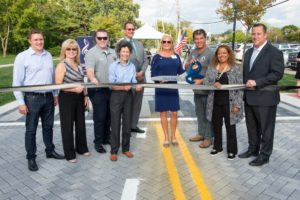 MWRD, Tinley Park partner on permeable street to soak up water