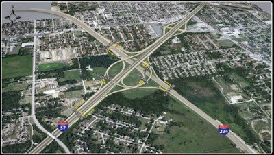 z_Interstate 57 and 294 project