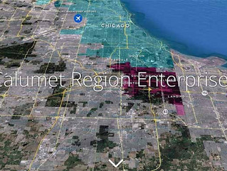 SSMMA showcases the Calumet Region Enterprise Zone story map