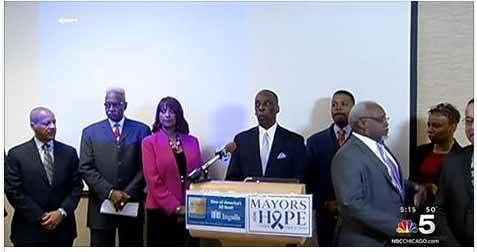 mayors for organ donations