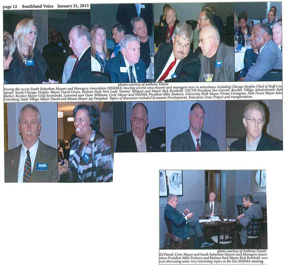 SSMMA 1-`5-15 dinner meeting, courtesy of Anthony Foushi of the Southland Voice.