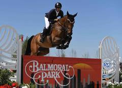 Balmoral Park's big leap from horse racing to show jumping