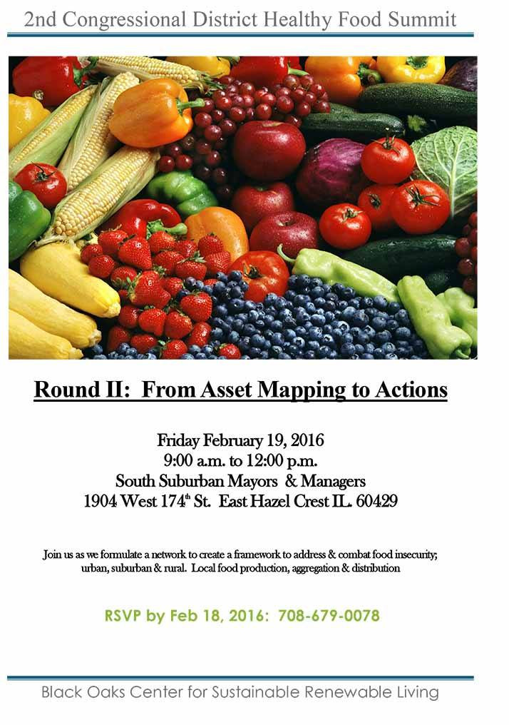2nd Congressional District Healthy Food Summit
