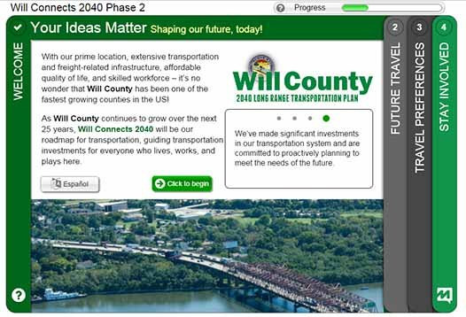 Will County Connects 2040 Phase II