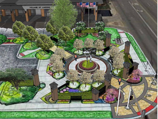 Lansing History Plaza set to open by mid-June