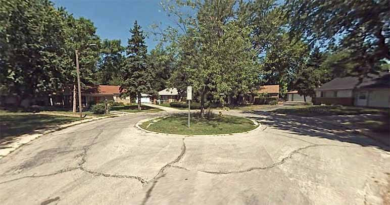 Sauk Court in Pk Forest