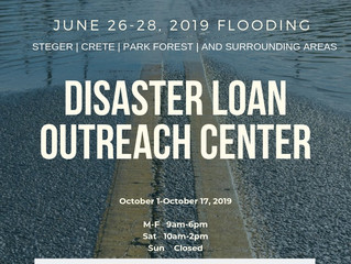 State receives Disaster Declaration from Small Business Administration for Will, Cook Counties