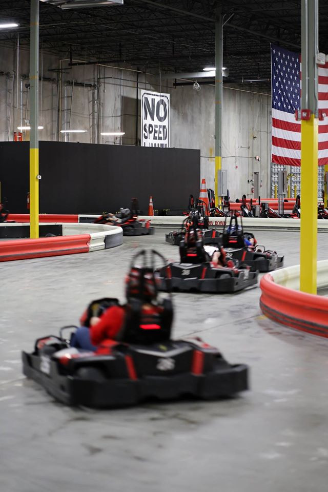 Photo courtesy of Accelerate Indoor Speedway