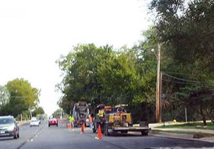 construction on 183rd in Homewood