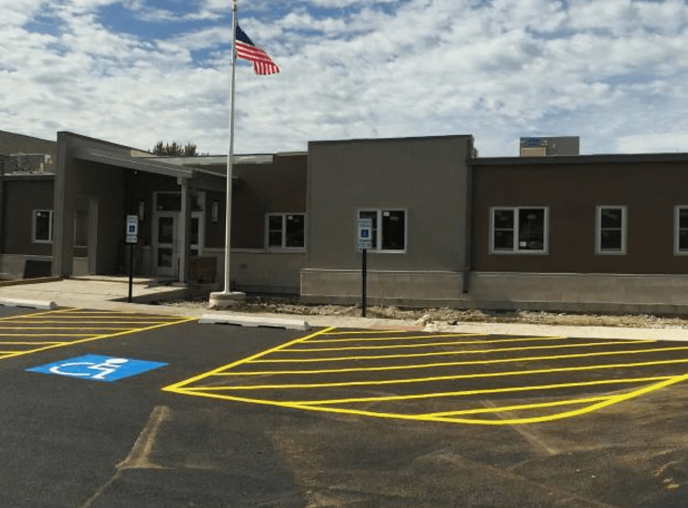 New South Chicago Heights Public Safety Center located at 185 Sauk Trail. Photo courtesy of the South Chicago Heights Police Department.