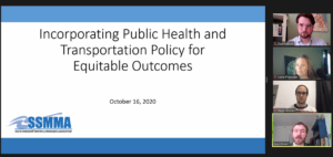 SSMMA presents on health and transportation policy at Transport Chicago's Virtual Conference