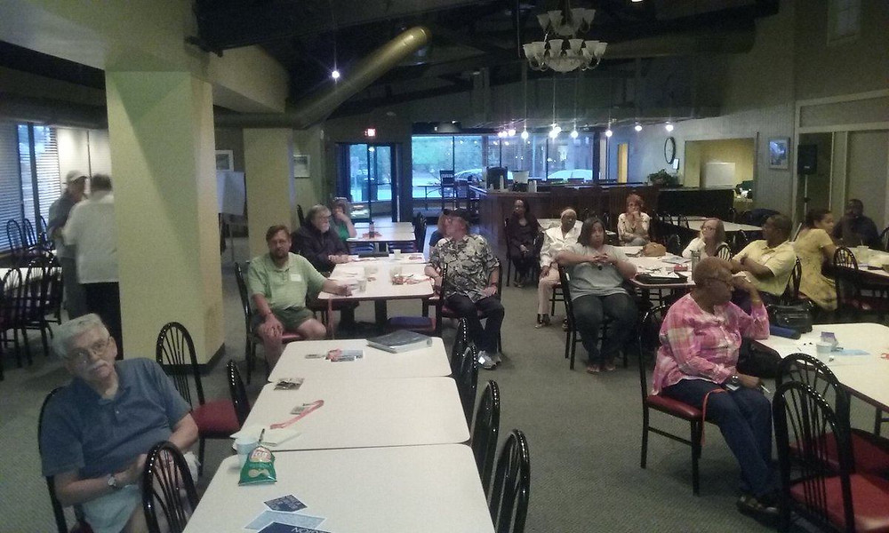 CMAP's On to 2050 regional planning event in Park Forest. Photo courtesy of Kelwin Harris