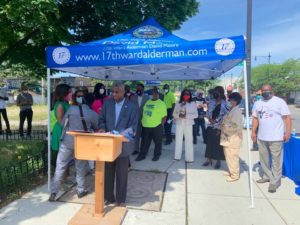 Chicago Ald. David Moore joins south suburban leaders in push for Peotone airport