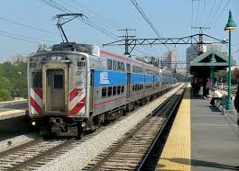 Metra electric at UC chicago