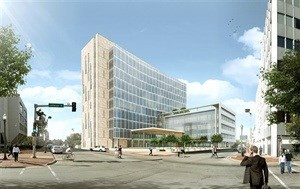 Image of planned courthouse courtesy of Will County Illinois