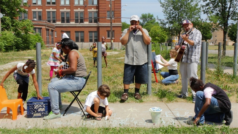 Placemaking is the art of creating temporary community spaces, often on a small budget. Photo credit: MPC