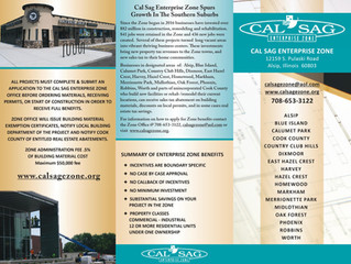 Cal-Sag Enterprise Zone Brochure