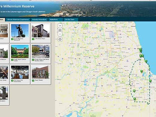 Story map is a great guide to the region's sites