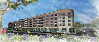 Rendering of Tinlry Park's planned Boulevard at Central Station
