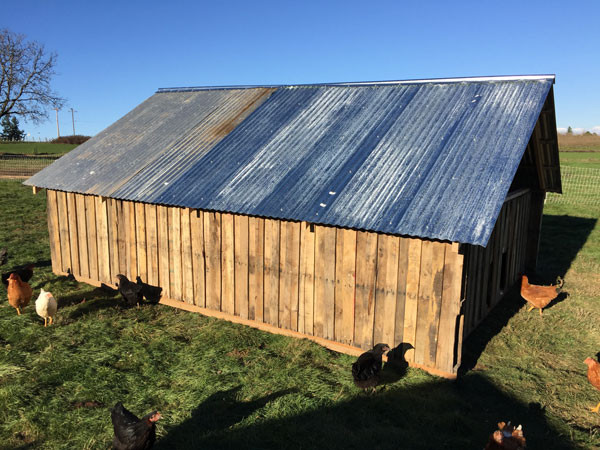Hen House for Pastured Chickens