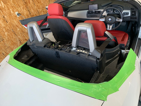 Z4 電動オープン 修理