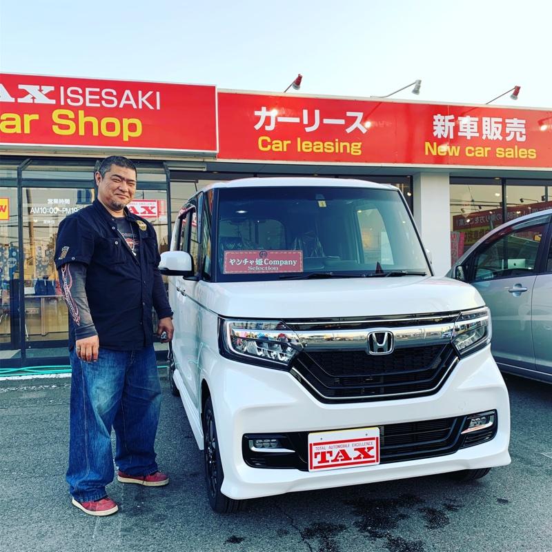 W様 N-Box カスタム 納車