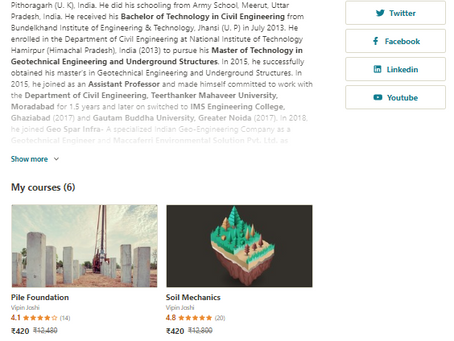 Udemy Courses- Civil Engineering