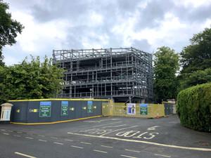 Ardmore Studio progressing on site