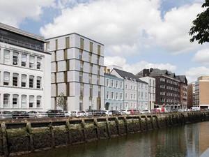 Works underway at Morrison's Quay, Cork