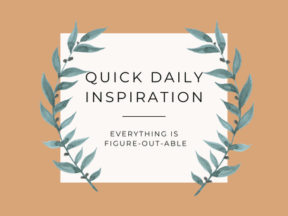 Quick Inspiration To Boost Your Mood – Figure-out-able