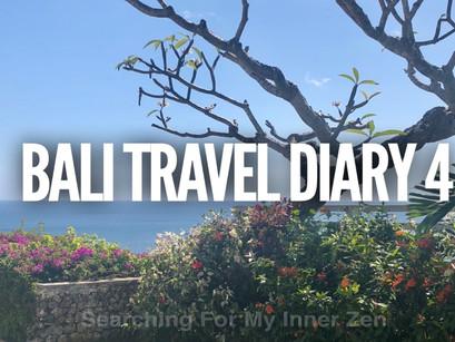 Bali Travel Diary 4 – Nusa Dua & Uluwatu