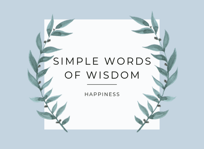 Words of wisdom – Take a step back today