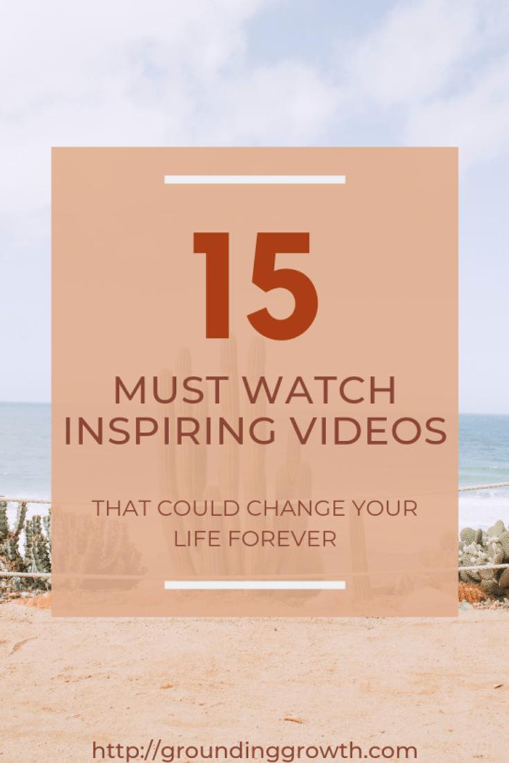 15 inspiring videos