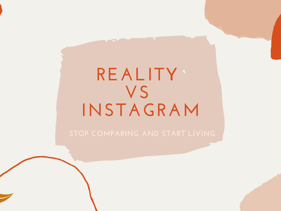 Instagram Vs Reality – What you need to remember!