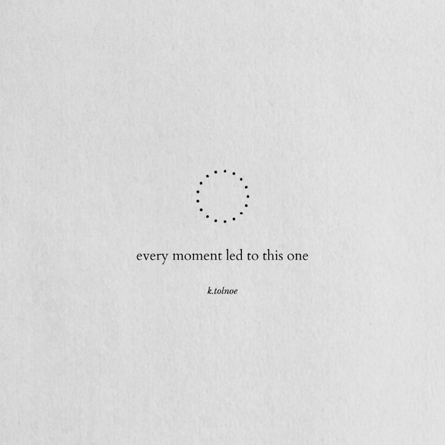 The dots of our life